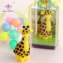 Cute Giraffe shaped cartoon candle baby shower baptism party favor children gift present birthday