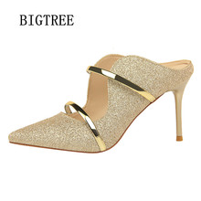 Buy fetish high heels pumps women shoes bling bling bigtree shoes wedding shoes bride stiletto slingbacks high heels zapatos mujer