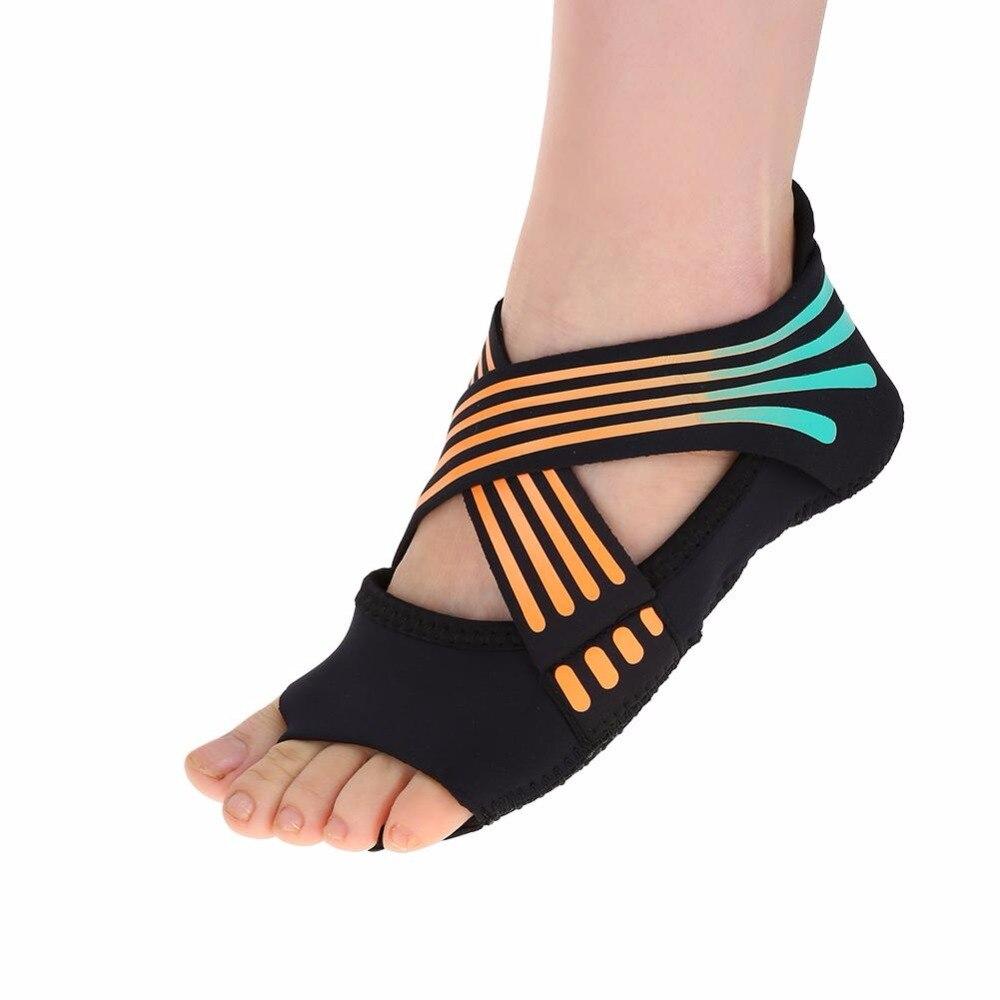 Yoga-Socks-Insoles-Ballet-Non-slip-Five-Finger-Toe-Sport-Pilates-Socks-Insole-For-Women-Barre