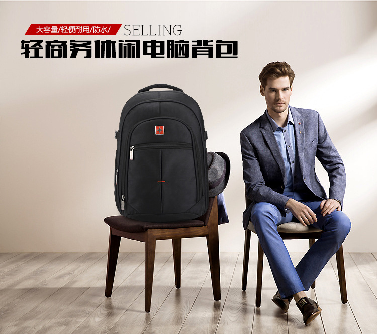 Ecoparty outerdoor Business bags Waterproof Oxford Swiss Backpack Men 15 inch Laptop bag sac a dos women backpacks Travel school<br>