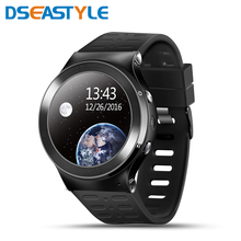 S99 Android 5.1 Smart Watch MTK6580 Quad Core Support Google Voice GPS Map Bluetooth Wifi 3G Smartwatch Phone Heart rate(China)