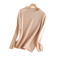 Women Sweater 100% Pure Cashmere Knitted Pullovers New Brand O-neck Skirts Female Fashion Tops Knitwear Standard clothes