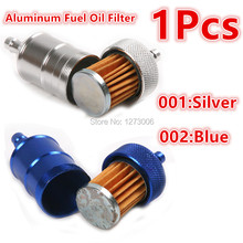 Universal 1PC Aluminum Conversion Gasoline Filter Fuel Oil Filter For Motorcycle Off-road Vehicles ATV