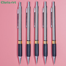 0.5 0.7 0.9 mm Steel Mechanical Pencil Metal & Plastic Lead Holder For School Stationery Supplies Drawing Pencil(China)