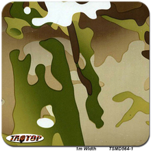TAOTOP 1m*10m TSMD564-1 Camo Tree Leaves Pattern Water Transfer Printing Film Hydrographic Films(China)