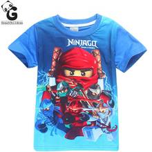 Batman Boys T-shirts Bobo Choses Boy Shirt Children Tops Legoe Ninjago T Shirt for Boy Tees Costume Boys Polo Shirt Kids Clothes