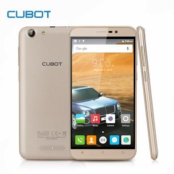Nota s 4150 mah bateria smartphone cubot 5.5 polegada tela hd android 6.0 mtk6580 celular 3g wcdma 2g ram 16g rom móvel telefone