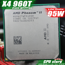 AMD Phenom II X4 960T CPU Processor Quad-Core (3.0Ghz/ 6M /95W )Socket AM3 AM2+ 938 pin(working 100% Free Shipping)sell 955 965(China)