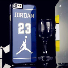 New 2015 Air Michael Jordan Plating Mirror Jordan Scratch Protection Cover For Apple iPhone 6 5S 6Plus inch Jordan's Phone Case