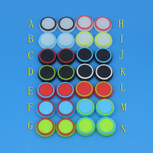 50pcs/lot Rubber Silicone Analog Thumb Stick Grips Cap Cover for Playstation PS4 PS 3 Controller Thumbsticks Caps for Xbox 360