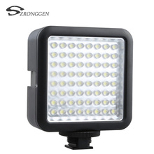Godox 64 LED Illumination Dimming Video Light for Canon / Nikon / Pentax DSLR Camera