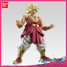 PrettyAngel - Genuine Bandai Tamashii Nations SHODO Vol.5 Dragon Ball Z Super Saiyan Broly (9cm tall) Action Figure