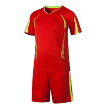 16/17 Can Customized Kids Sports Football Soccer Jerseys + Pants Suit Short Sleeve Blank Uniforms Set For Children Boys Kits