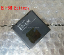 1PCS new high quality BP-6M BP 6M  BP6M  battery  For Nokia N73 N77 3250 6233 6234 N93 6288 mobile phone +track code