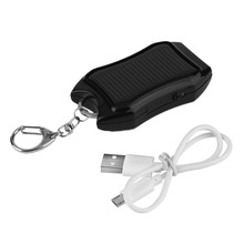 kebidu 1500mAH Solar Keychain Solar Charger Mobile Power Supply Energy Saving Charger/Battery Power Bank