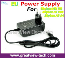 1PC Free Post 12V 2A EU standard Power Supply for Original Skybox  F5 M3 F5S F3S A3 A4 satellite receiver Europe