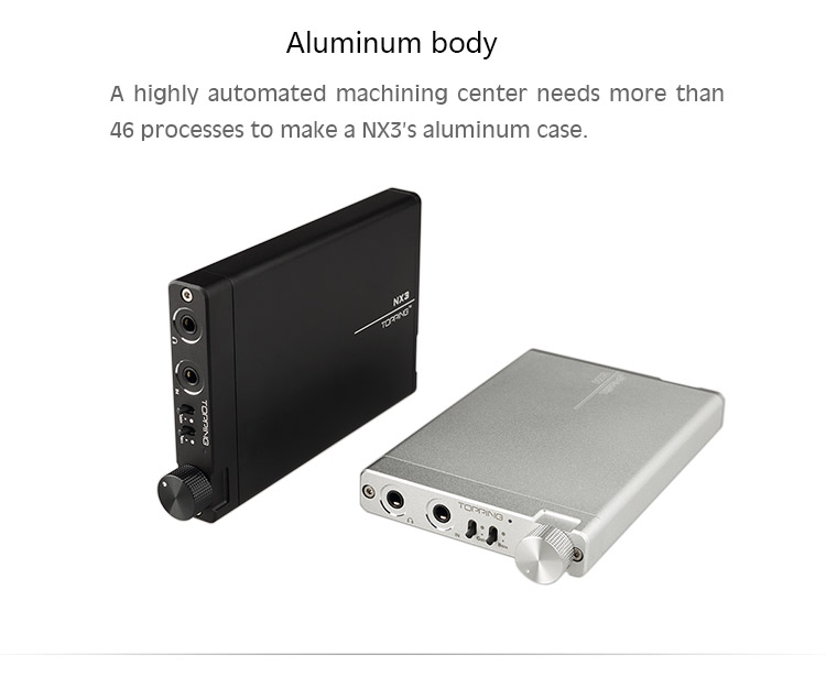 TOPPING NX3 portable headphone amplifier fever hifi amp TPA6120A2 OPA2134 cost-effective factory direct