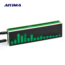 New 16 level LED Music Audio Spectrum indicator Amplifier Board Speed Adjustable With AGC Mode + Case(China)