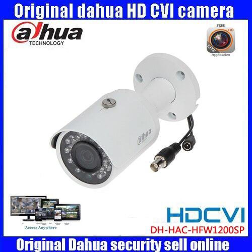 DAHUA HDCVI 1080P Bullet Camera 1/2.72Megapixel CMOS 1080P IR 30M IP67 HAC-HFW1200SP security camera DHI-HAC-HFW1200SP camera<br>