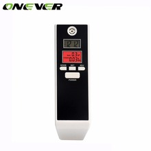 Onever Portable Alcohol Tester LCD Digital Breath Breathalyzer Inhaler Alcohol meters Carry with Count Down Timer(China)
