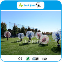 Top quality ! 1.0mmTPU China family play bubble ball soccer /human bubble ball for football(China)