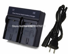 Dual Voltage AC Rapid LC-E8C LC-E8 Battery Charger fit LP-E8 LP E8 battery for Canon EOS Rebel T4i T3i T2i 700D 650D 600D 550D(China)
