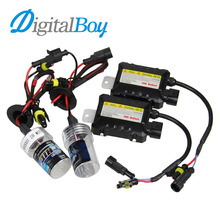 DIGITALBOY 12V 55W H7 Xenon Bulb HID Ballast Conversion KIT Car Headlight Lamp 4300K 5000K 6000K 8000K 10000K Car Light Source