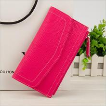The new female wallet fashion business lady wallet multi - card girl bag manufacturer wholesale money clip(China)