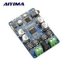 Aiyima TDA7492P Bluetooth Receiver Amplifier Audio Board 25WX25W Speakers Modified Music Mini Amplifiers Diy Dual channel(China)