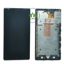 For Nokia Lumia 1520 LCD Display With Touch Scren Digitizer bezel Frame Assembly + tools