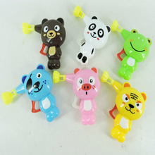 High Quality 1 Pcs Colorful Soap Water Bubbles Plastic Kid Outdoor Toy Automatic Soap Animal Bubble Gun Cartoon Animal Model