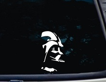 "Car Styling For Star Wars Darth Vader - 3 3/4"" X 6 1/2"" Decal Windows Cars Trucks Laptops Virtually Any Hard, Smooth Surface."