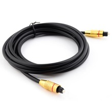 1m/3m/5m/10m OD5mm Digital Optical Optic Fiber Toslink connect Audio Cable Converter Cord DVD CD AV Video Data Cables