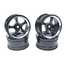 4pcs Aluminum Alloy Wheel Rims For RC 1:10 Drift On-Road Racing Car Touring Upgrade Parts HSP Redcat HPI Himoto(China)