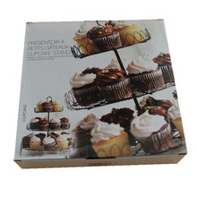 3 Tiers Cake Metal Rack Cupcakes Dessert Stand Holder Great for Party