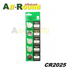 5pcs/Lot ,CR2025 3V Cell Battery Button Battery ,Coin Battery,cr 2025 lithium battery For watch, calculator