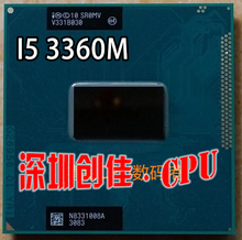 Original Core i5-3360M Processor 3M Cache 2.8Ghz i5 3360M SR0MV PGA988 TDP 35W, Laptop CPU