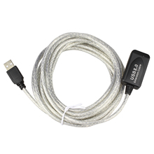 High Quality 5m USB 2.0 Active Repeater Cable Extension Lead(China)