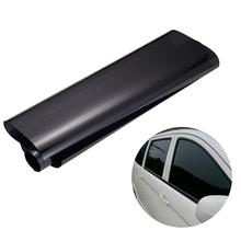 75cm*3M Car Van Window Tint Film Universal Fit for Privacy & Sun Glare Heat Reduction (Black)