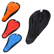 Mountain Bike Seat Saddle Cycling Road Bicycles Silicone Front Seat Saddle Cover Silica Gel Bike Saddle Cushion Cover   US#V