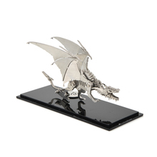 3D stainless steel metal model frostwyrm puzzle game prototype creative interior decoration ornaments gift adult Collectibles