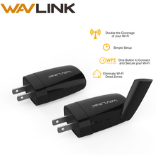 Wavlink Wall Plug 2.4Ghz 300 Mbps Wireless Wifi Repeater Router Flash 16MB SD 64Mb Mini Wifi Extender AP Router with WPS Button(China)