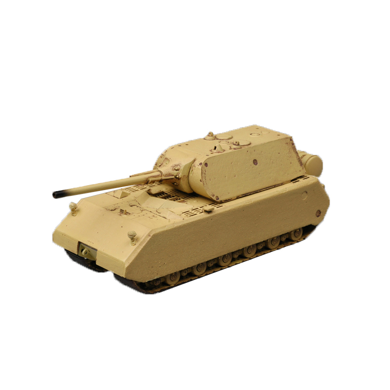 Chanycore Easy Model Pz.Kpfw VIII Mouse Maus Sand German Super Heavy Tank Finished Model Kit 1/72 36206 Kids Gifts 4361(China (Mainland))