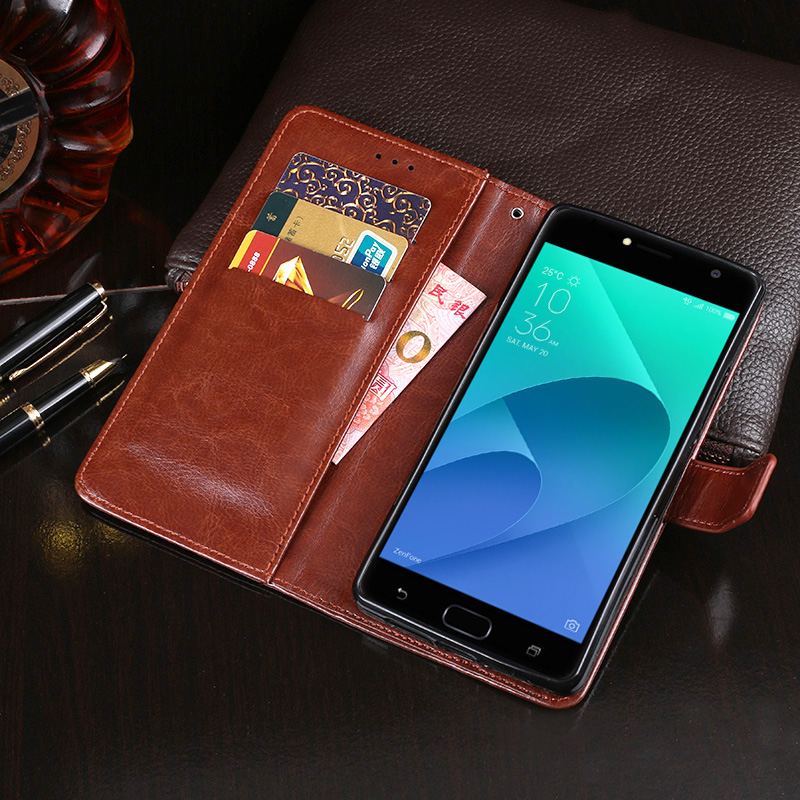 e5dc33504a66 Detail Feedback Questions about Leather Case For Asus ZenFone 4 ...