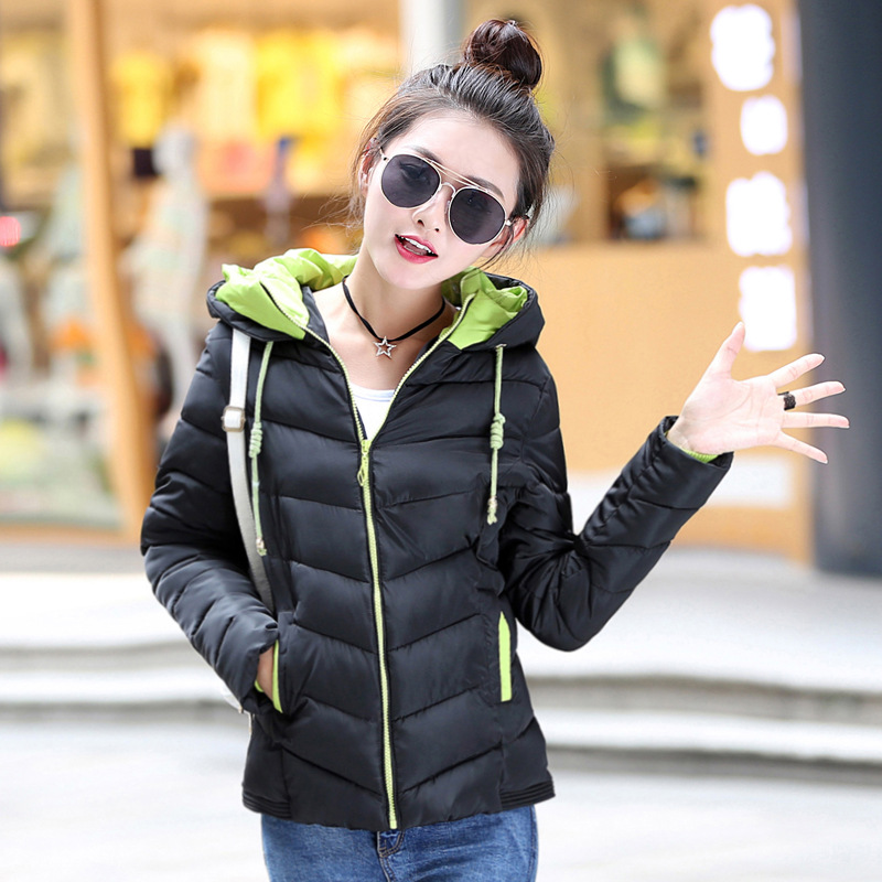 7-14 days To Moscow Winter Jacket Coat Women 2017 New Winter Women Parka Short Slim Thickening Down Cotton-padded Jacket FemaleОдежда и ак�е��уары<br><br><br>Aliexpress