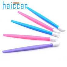 Haicar Pretty 1Pc Nail Art Orange Wood Stick Cuticle Pusher Remover Pedicure Manicure Tool for Beauty Nail Brush High Quality