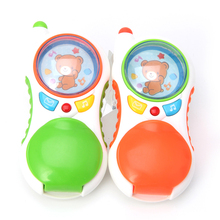 Child Baby Educational Toy Learning Study Cell Phone Toy With Sound And Light
