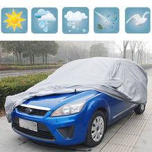 Waterproof Car Cover Fit For Ford Focus Fiesta Mondeo Taurus Tempo GL Victoria Probe Escort Car Case Covers Accessories