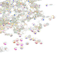 #928 New Product 3D Nail Art Rainbow Rhinestones Mullti Color Options1440pcs/Bag Nail Stickers Nail Diamonds