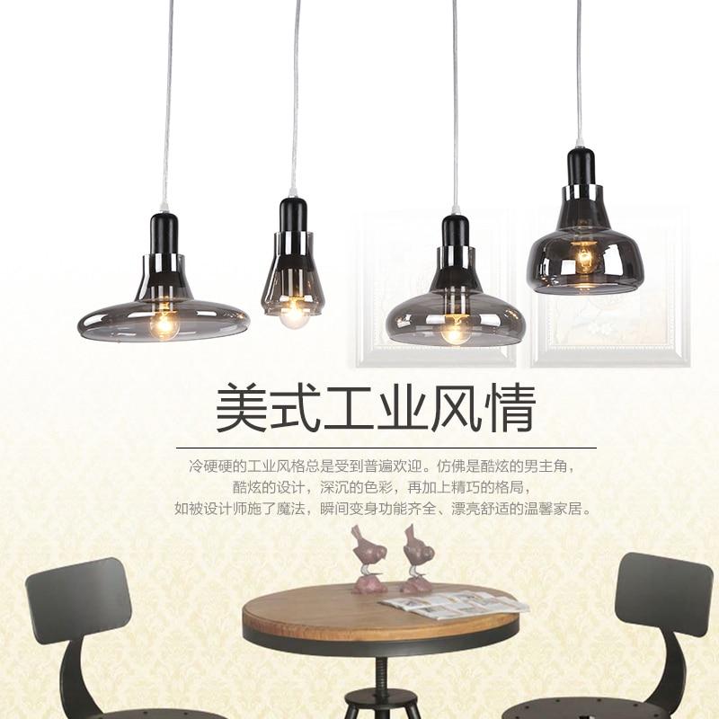 Chandelier Lamparas Pendant Llight For Kitchen Industrial Edison Lamps Living Lights Loft Fixtures Glass Lustre Industriel Lamp<br>